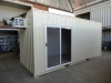 New 20'High Cube Container with New Glass Sliding Door (1)